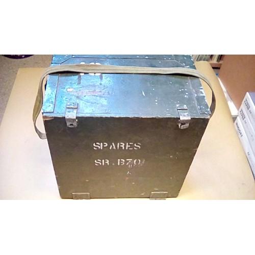 LARKSPUR B70 WOODEN SPARES BOX